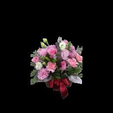 [바구니-998]카네이션 바구니-핑크